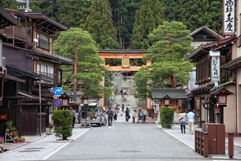 Japan - Takayama arkivbild