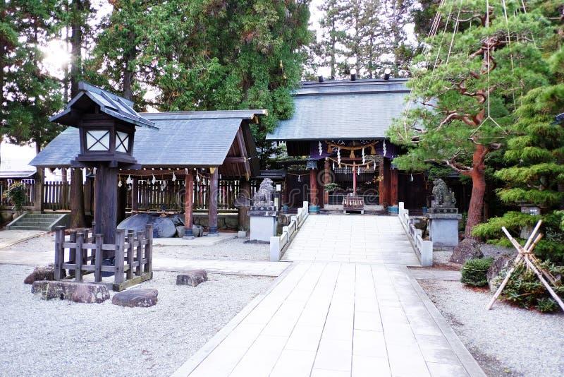 Japan tempel royaltyfri foto