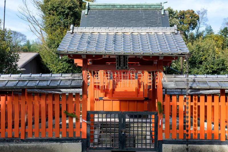 Japan Tenryuji tempel arkivbilder