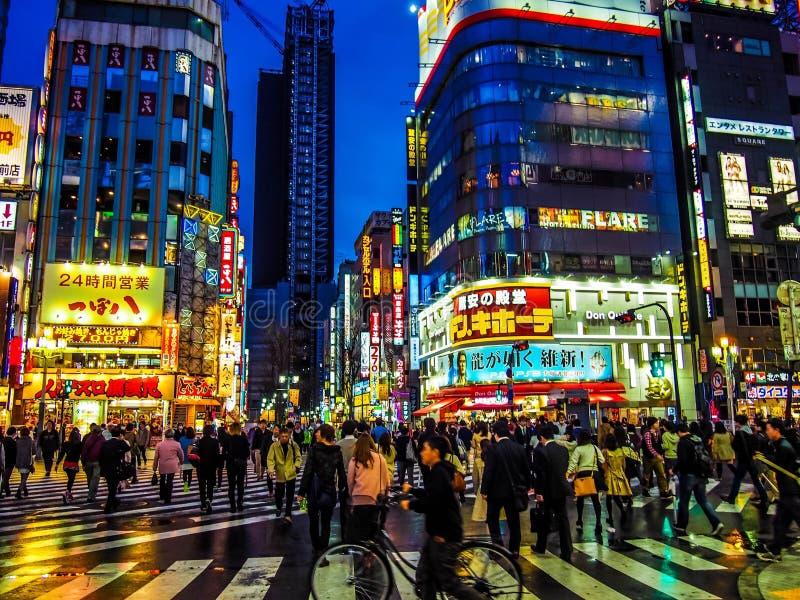 Japan Tokyo fotografering för bildbyråer