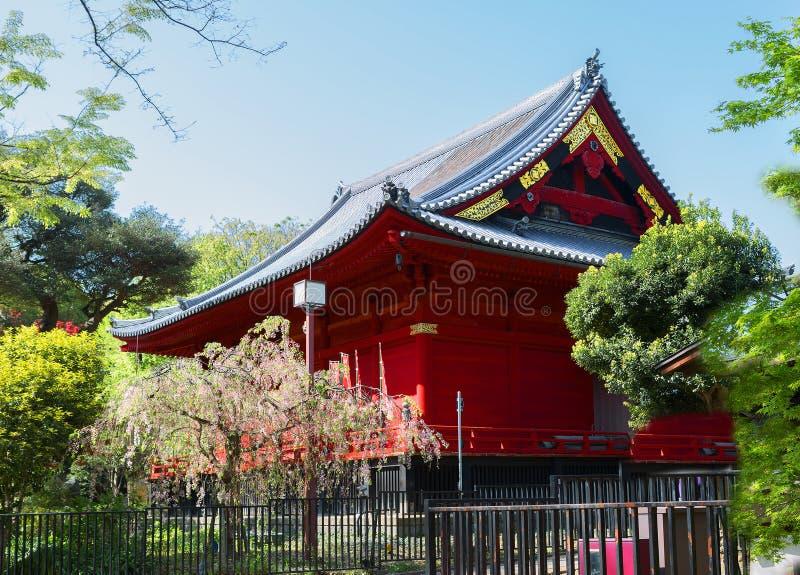 Japan. Tokyo. Kanyadi temple in Ueno Park. royalty free stock photography