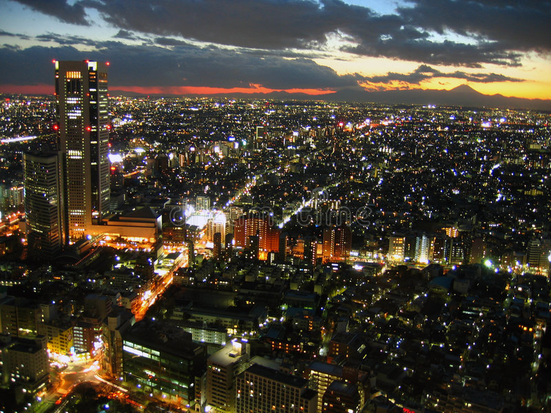 japan tokyo twilight στοκ εικόνες με δικαίωμα ελεύθερης χρήσης