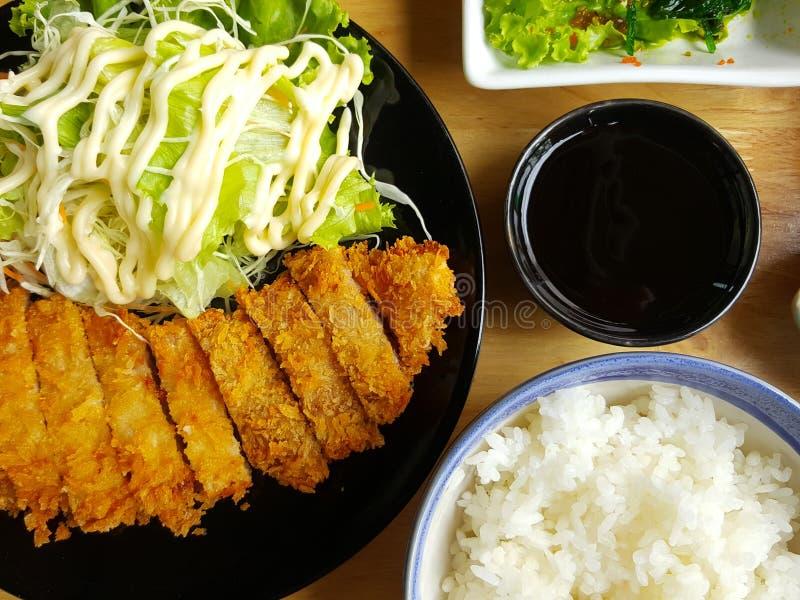 Japan Tonkatsu fotografering för bildbyråer