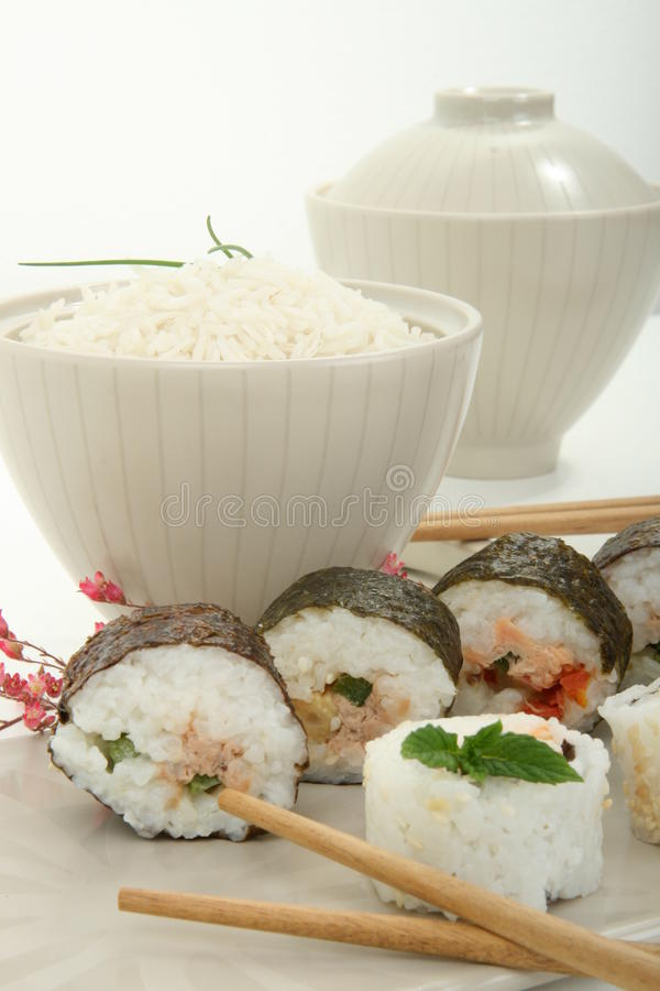Download Japan Traditional Food Roll Royalty Free Stock Image - Image: 14610066
