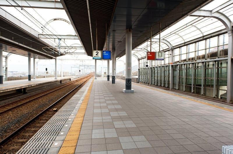 Japan Train Station stock image