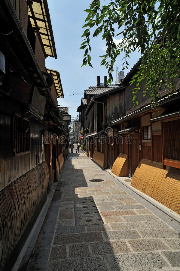 japan ulica Kyoto obrazy stock