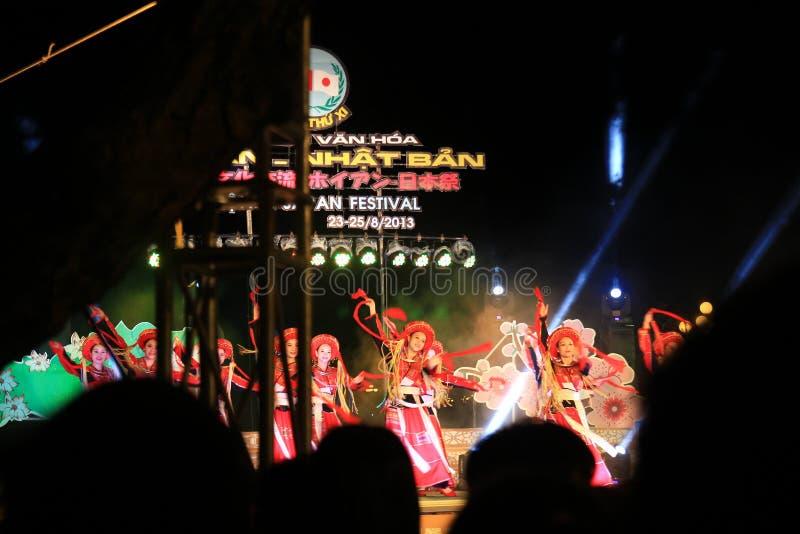 Japan-Vietnam Cultuurfestival stock fotografie