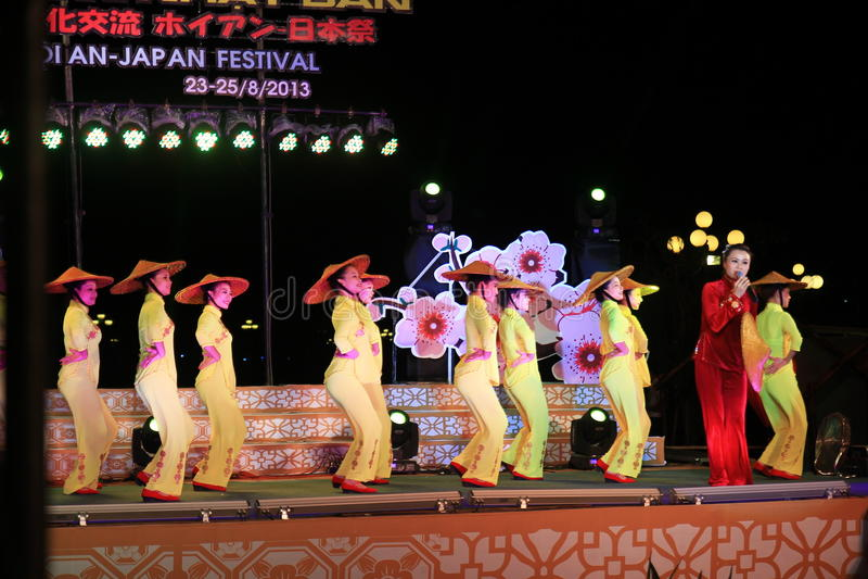 Japan-Vietnam Cultuurfestival royalty-vrije stock foto's