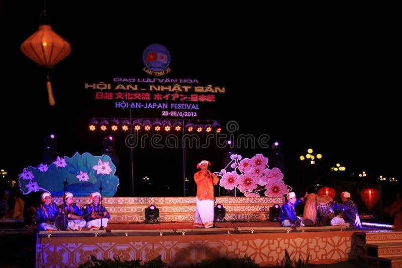 Japan-Vietnam Cultuurfestival royalty-vrije stock fotografie