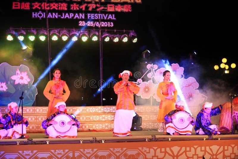 Japan-Vietnam Cultuurfestival royalty-vrije stock afbeelding