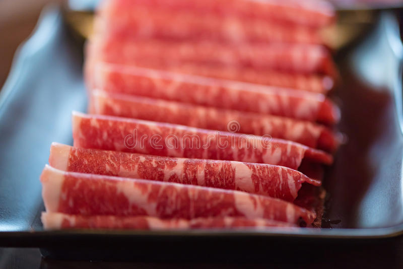 Japan wagyunötkött royaltyfria foton