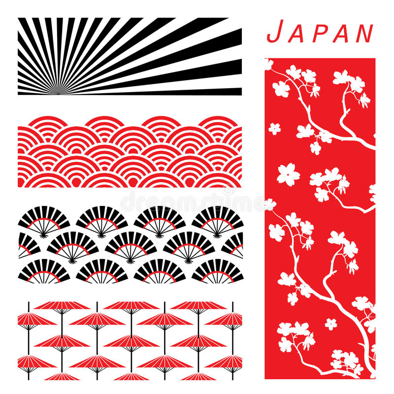 Free Japan Wallpaper Background Decorate Design Cartoon Vector Stock Images - 50926284