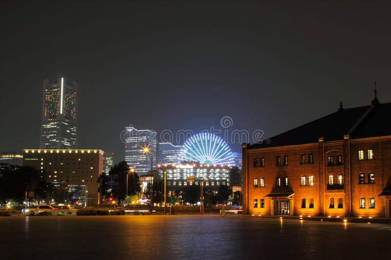 Japan : Yokohama. Yokohama is located in the centre of Japan, along the coastline of Japan's Pacific Ocean, and one of the 15 Japanese Government stock photos