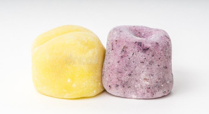 Japanaese Mochi traditionnellement préparé pour le dessert photos libres de droits