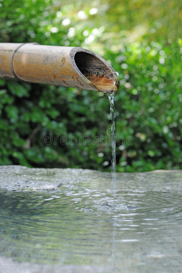 Free Japanese Bamboo Fountain Stock Images - 30520934