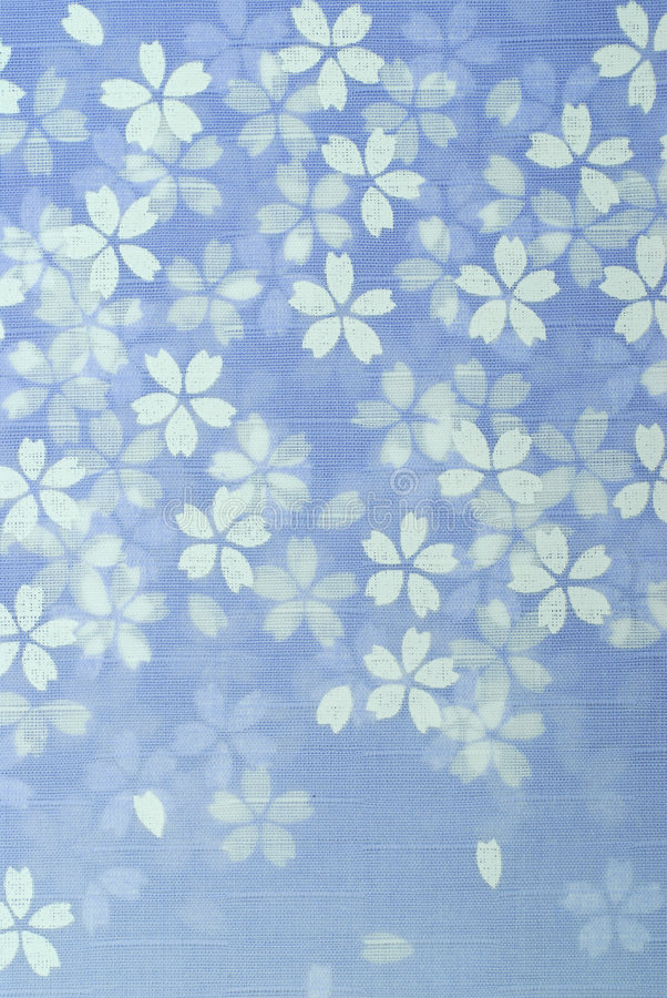 Japanese Blossom Pattern royalty free stock photos