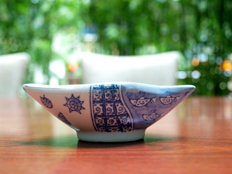 Japanese bowl royalty free stock photo