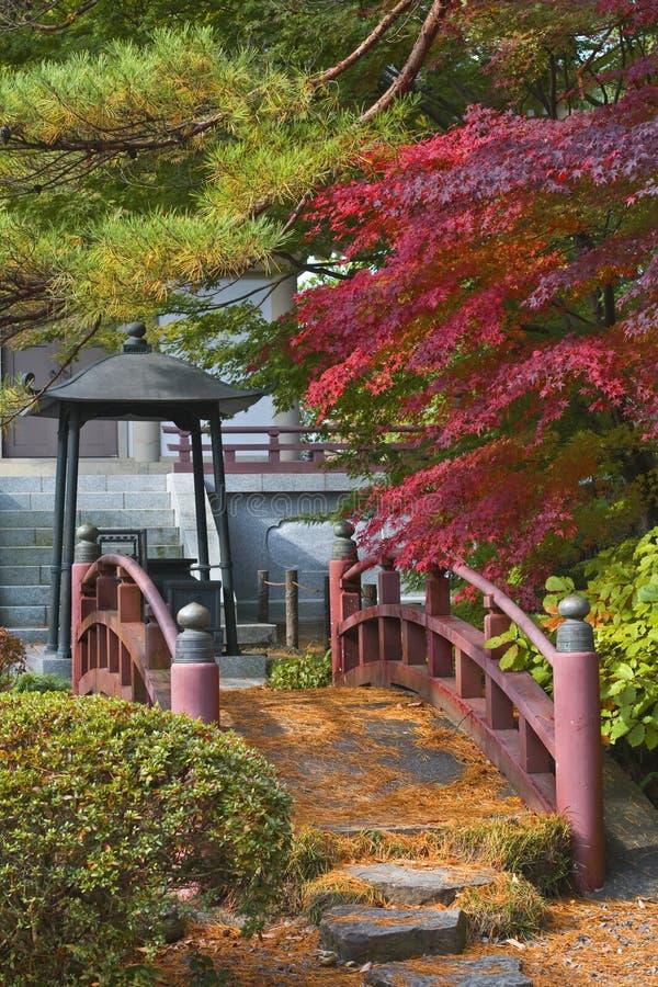 Japanese bridge stock image