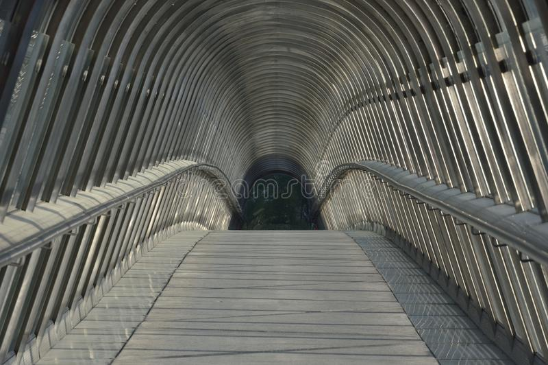 Japanese bridge - Paris royalty free stock photo