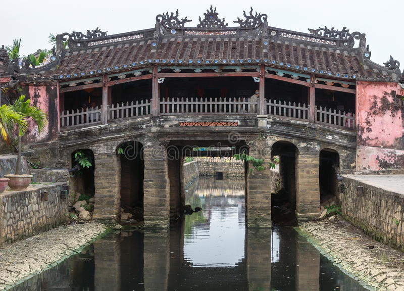 Download The Japanese Bridge And Temple In Hoi An, Vietnam. Stock Image - Image: 31834103