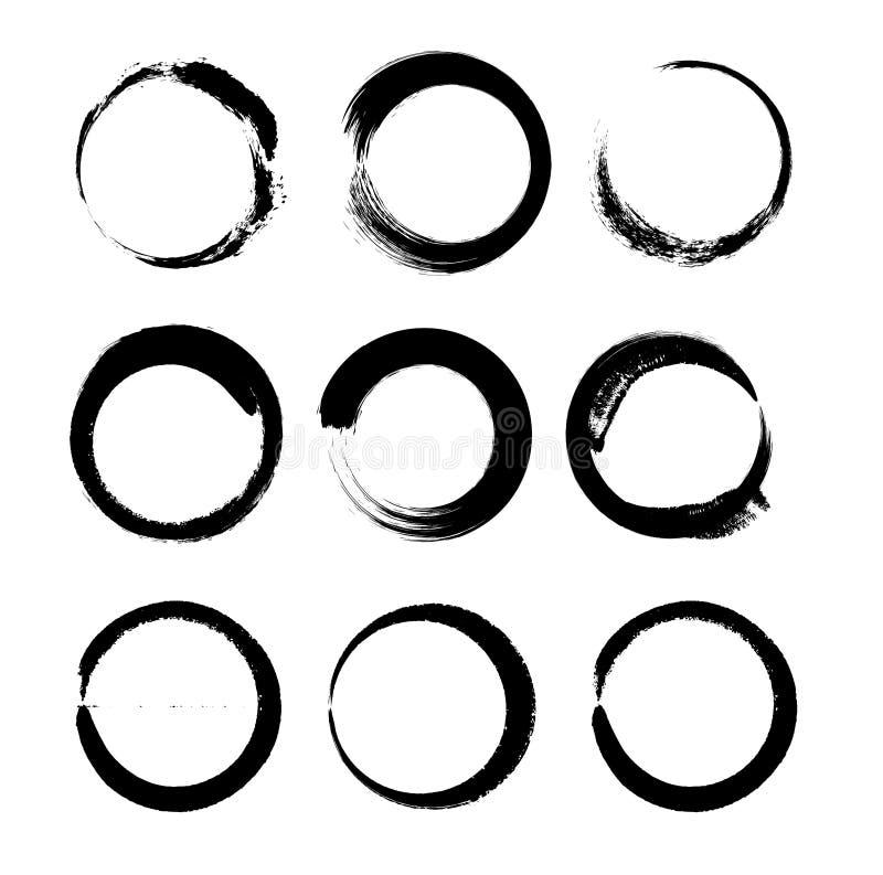 Free Japanese Calligraphic Circle Royalty Free Stock Images - 179200459
