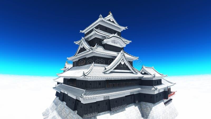 Japanese Castle Royalty Free Stock Photo