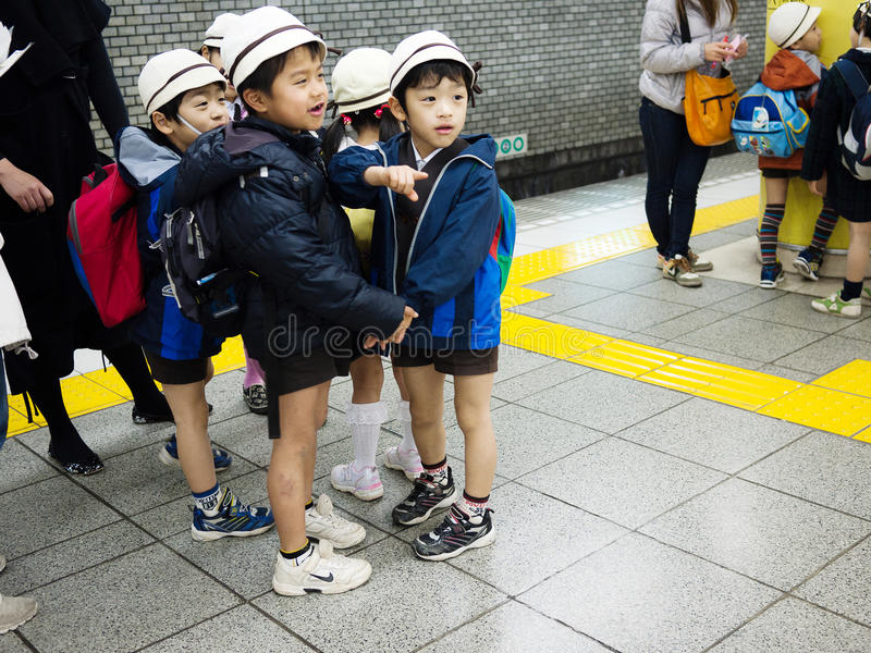 Japanese child stock image