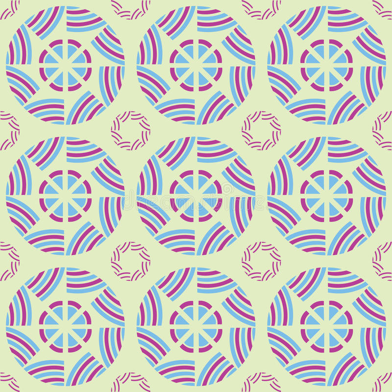 Download Japanese Circle Pattern stock vector. Illustration of seasonal - 23849885