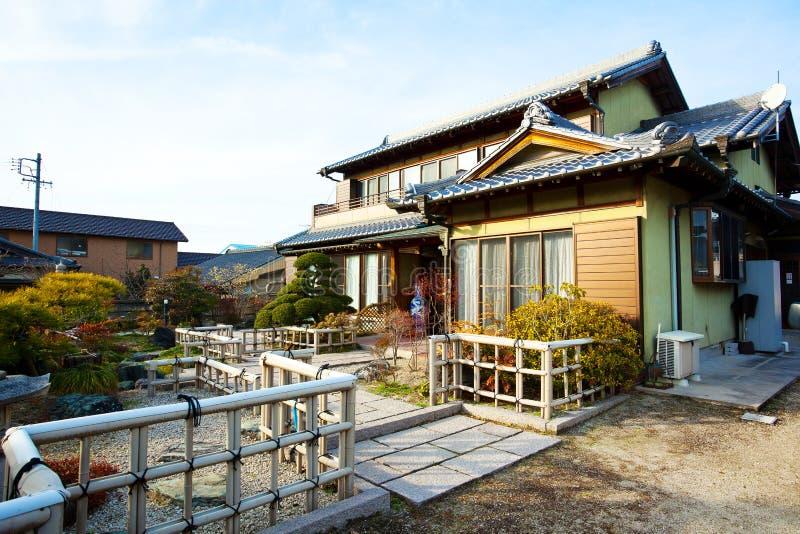 Japanese classical villa stock photos