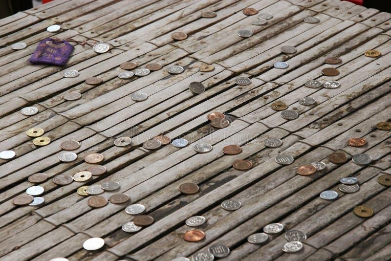 Japanese Coins stock photos