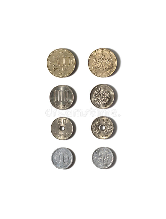 Free Japanese Coins Stock Photography - 92080622