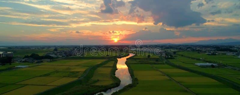 Japanese countryside stock photos