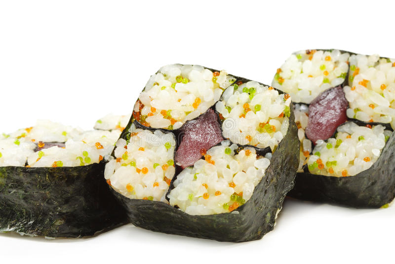 Japanese Cuisine - Sushi royalty free stock photos