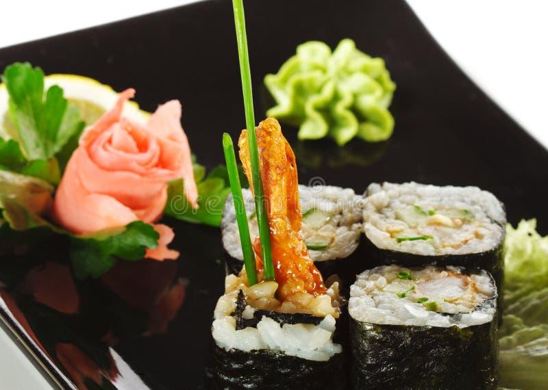 Japanese Cuisine - Sushi stock photos