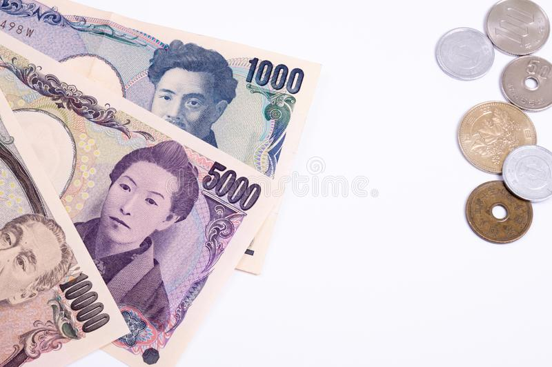 Japanese currency royalty free stock image
