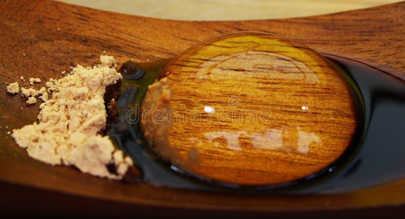 Japanese dessert stock image