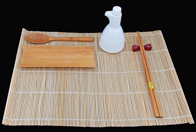 Japanese Dinner Set royalty free stock photos