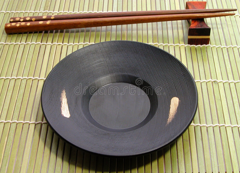 Japanese dishes stock photography