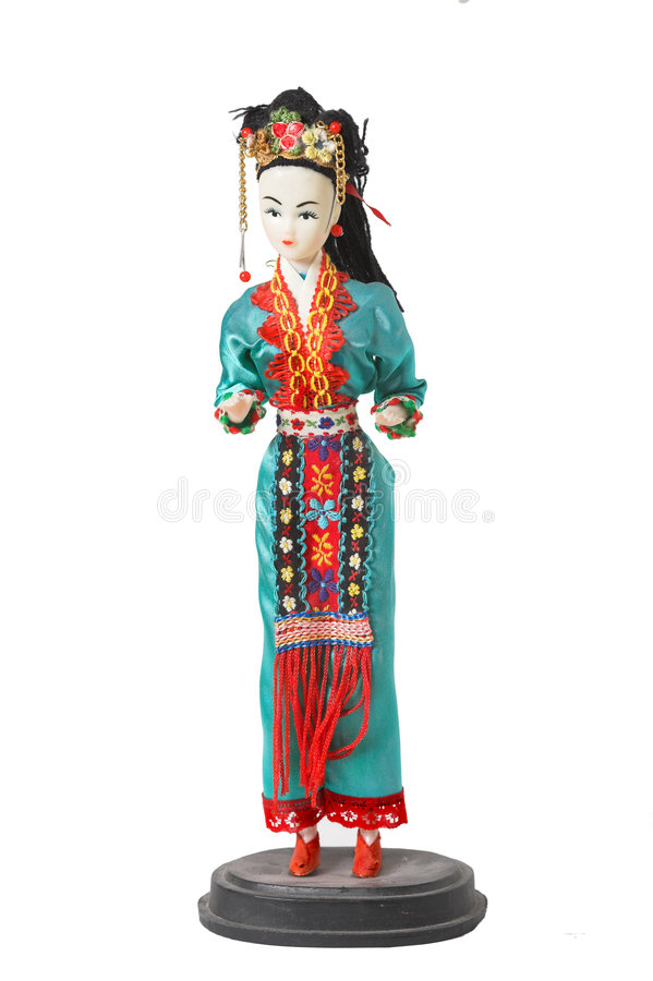 Download Japanese doll stock photo. Image of culture, asia, hair - 1705910