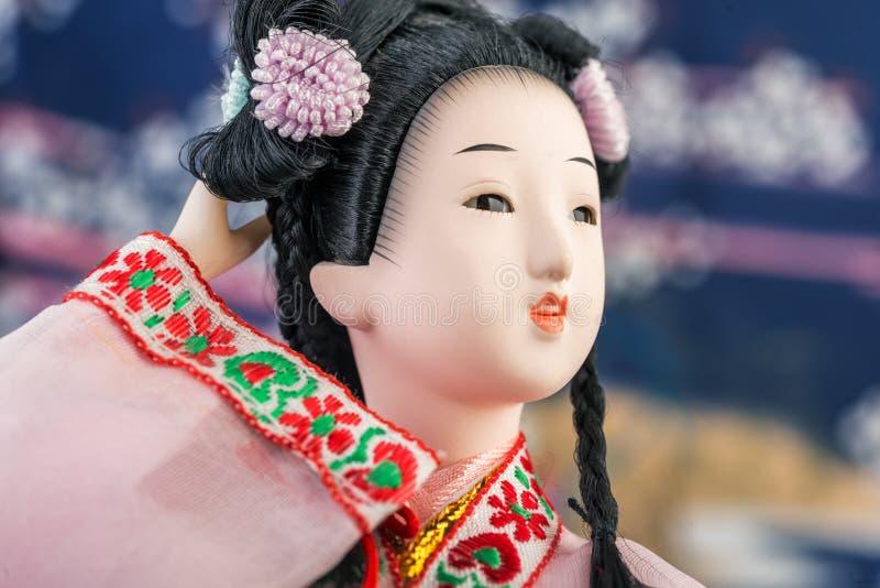 Japanese Doll royalty free stock photos