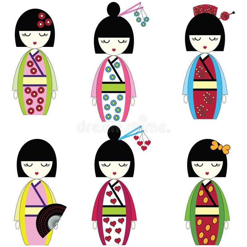 Free Japanese Dolls Royalty Free Stock Photos - 51893508