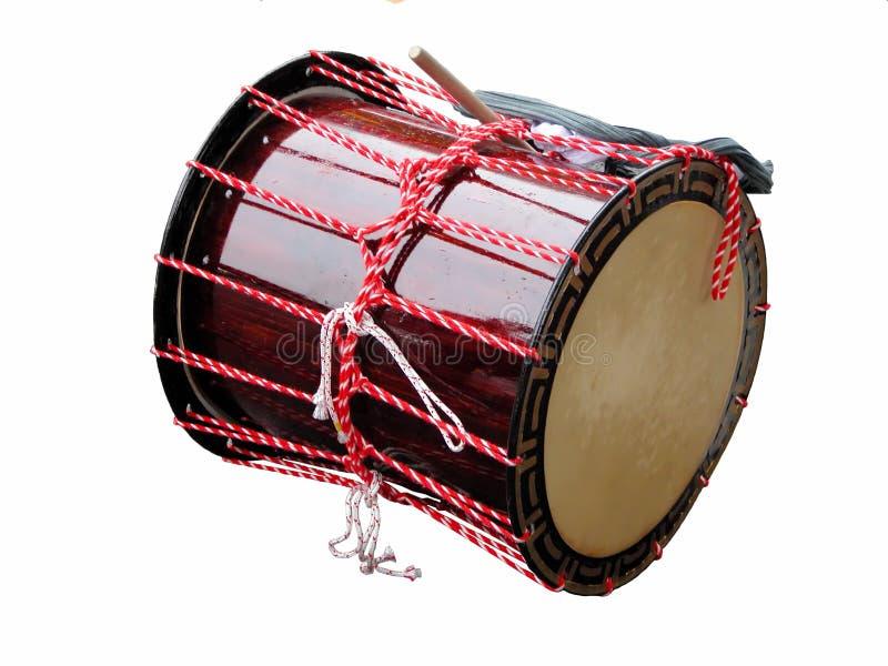 Japanese drum stock photography