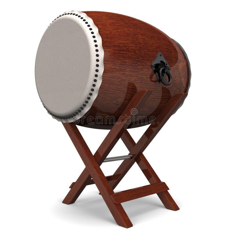 Japanese Drum royalty free illustration