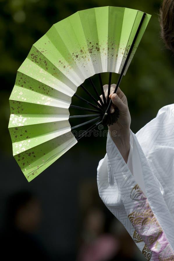 Japanese fan royalty free stock photo