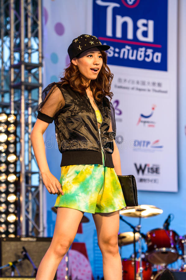 Download Japanese Fashion Show From JAPAN In Japan Festa In Bangkok 2013. Editorial Stock Photo - Image: 33466608