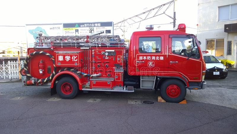Japanese Fire Engine Appliance royalty free stock images
