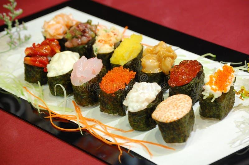Japanese FOOD. Sushai Set, very good to eat royalty free stock images