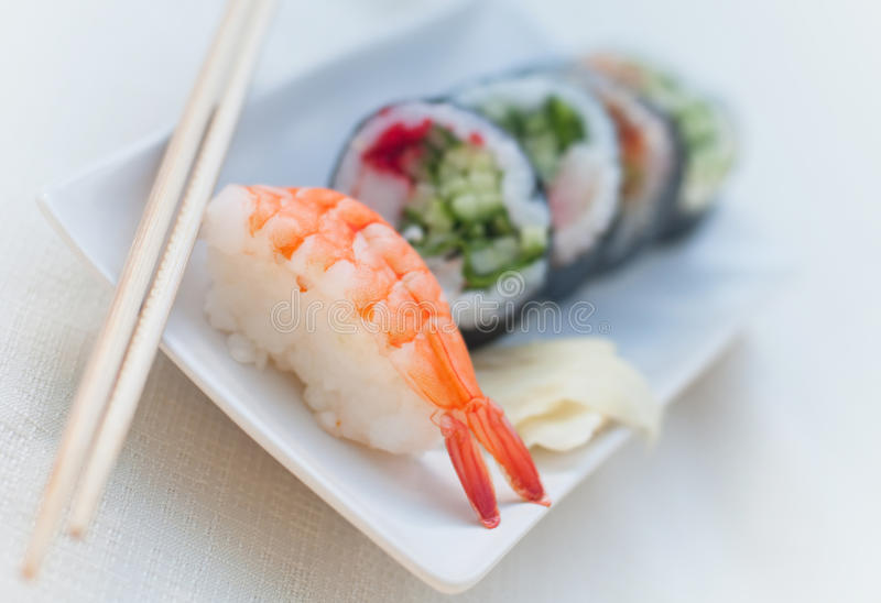 Download Japanese food stock image. Image of plate, tuna, rice - 14427207
