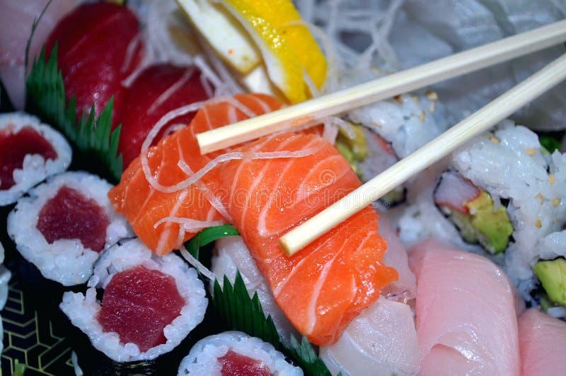 Download Japanese food stock photo. Image of rolls, rice, menu - 16463030