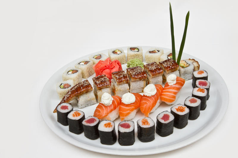 Download Japanese food stock image. Image of crab, maki, nigiri - 26830901